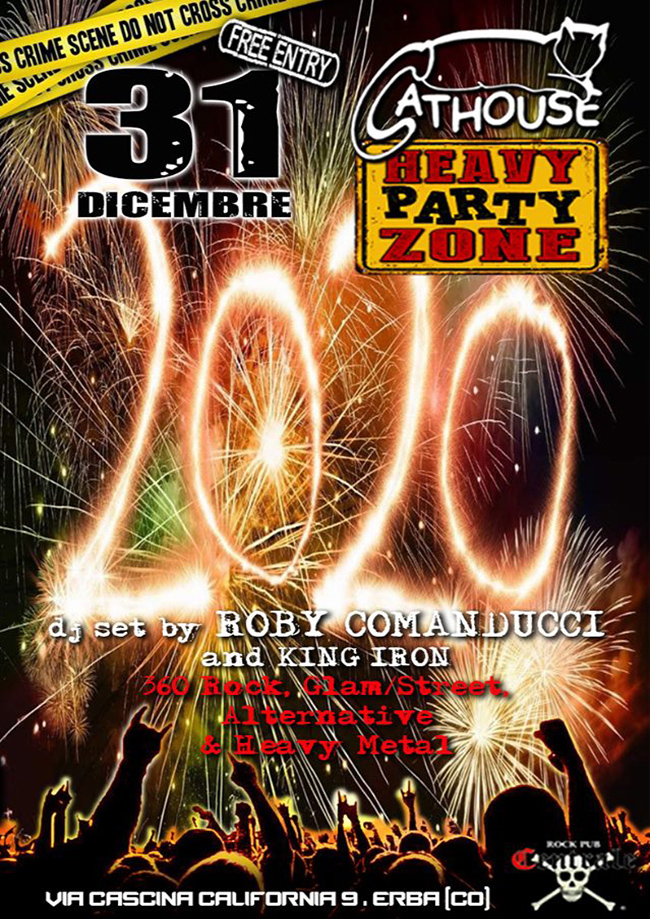 CAPODANNO 2020 - CATHOUSE PARTY