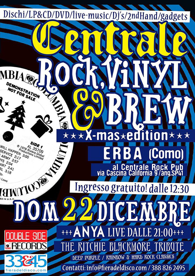 VINYL&BREW X-MAS EDITION