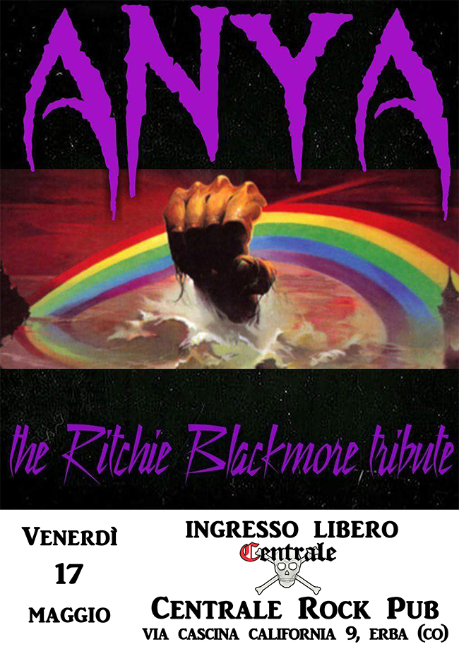 ANYA - THE RITCHIE BLACKMORE TRIBUTE