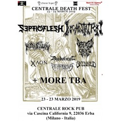 CENTRALE DEATH FEST  SUNDAY TICKET